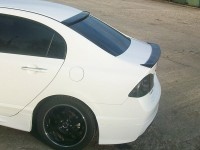 Спойлер лип Honda Civic 4D (2006-2012 г.в.)